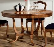 Sendinti baldai Stalai art H6165 Stalas apvalus