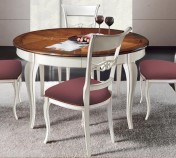 Sendinti baldai Stalai art H6175 Stalas apvalus prasiilgina