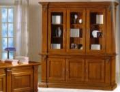 Sendinti klasikiniai baldai Komplektuojami baldai 6art 410/A Knygų spinta