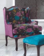 Sendinti klasikiniai baldai Seven Sedie art 9196P Krėslas