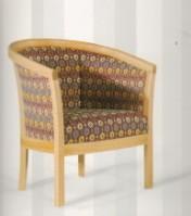 Sendinti klasikiniai baldai Seven Sedie art 0160P Fotelis