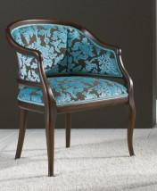 Sendinti klasikiniai baldai Seven Sedie art 0501P Fotelis