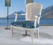 Sendinti klasikiniai baldai Seven Sedie art 3265P Krėslas