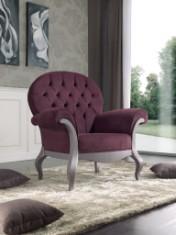 Sendinti klasikiniai baldai Seven Sedie art 9180P Krėslas